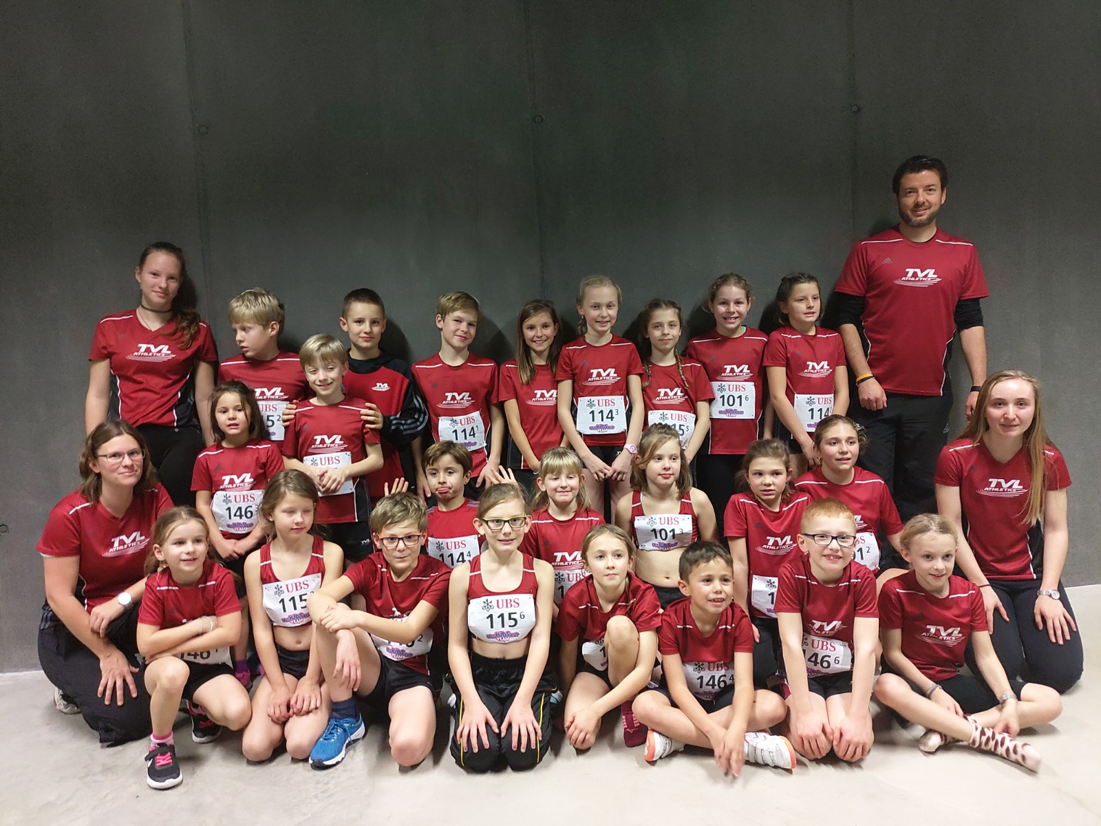 Grossaufgebot am UBS Kids Cup Team in Bern