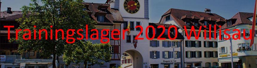 Trainingslager Willisau 2020 – Anmeldung ist offen