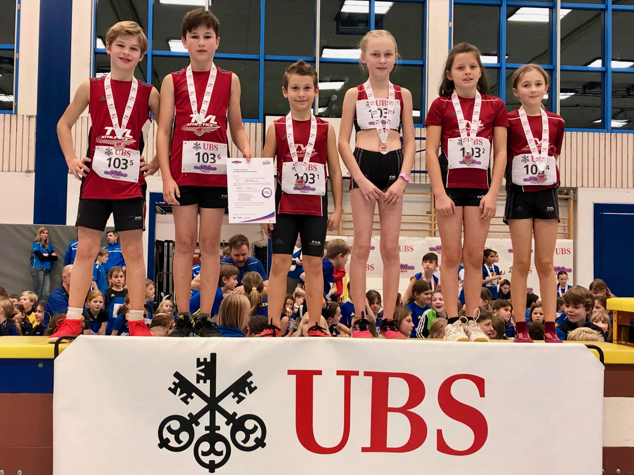 Bericht – UBS Kids Cup Team in Thun