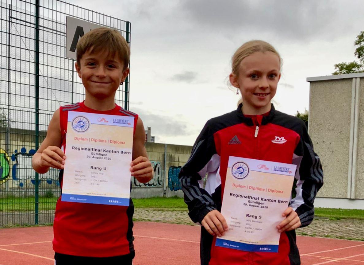 Bericht – Mille Gruyère 1000m Kantonalfinal 2020 Gümligen
