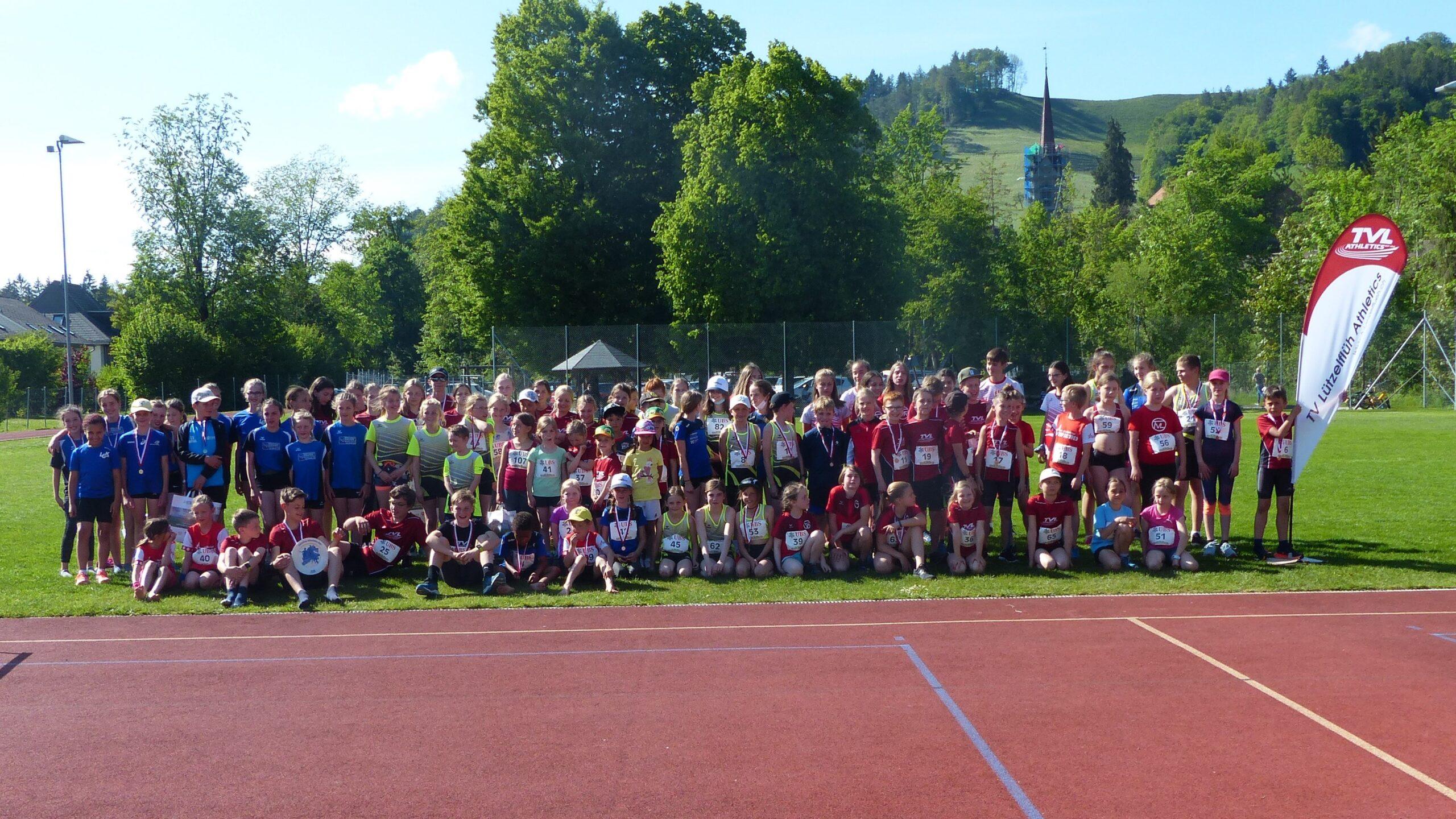 Bericht und Fotos UBS Kids Cup Lützelflüh + Schnellster Lützelflüher